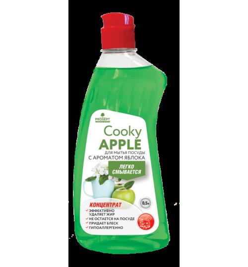 Средство для мытья посуды с ароматом яблока PROSEPT Cooky Apple 1 л. 1/12