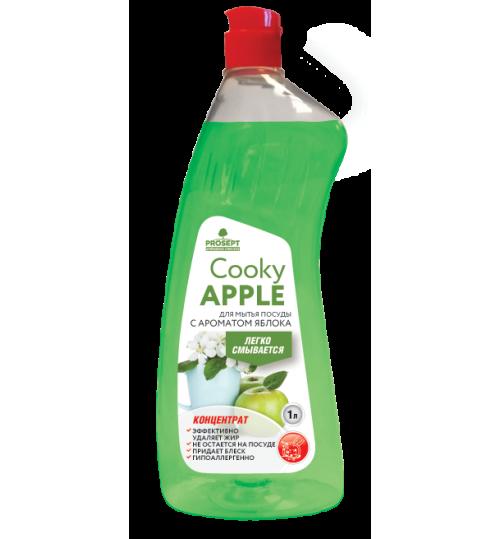 Средство для мытья посуды с ароматом яблока PROSEPT Cooky Apple 500 мл. 1/12