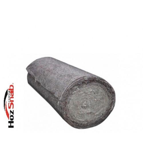 Полотно холстопрошивное серое ( ветош ) ш. 75 см. (рул. 50 м.)