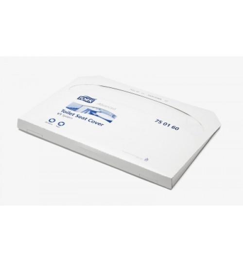 750160 Tork индивидуальный бумажный покрытия на унитаз V1 250 шт/уп