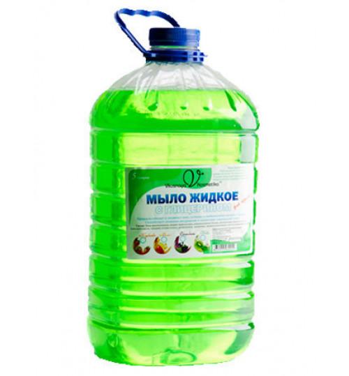Жидкое мыло с глицерином с ароматом киви вкусная косметика (ПЭТ) 5 л. 1/1