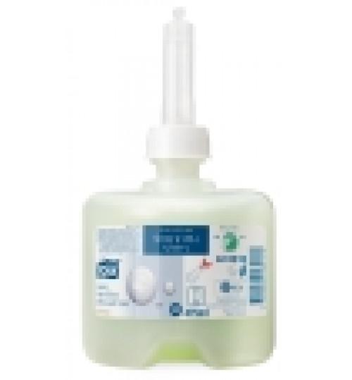 420652 Tork жидкое мыло-шампунь люкс для тела и волос мини S2