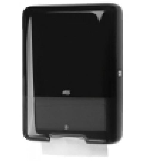 553008 Tork диспенсер для дистовых полотенец Singlefold сложения ZZ и С черный H3