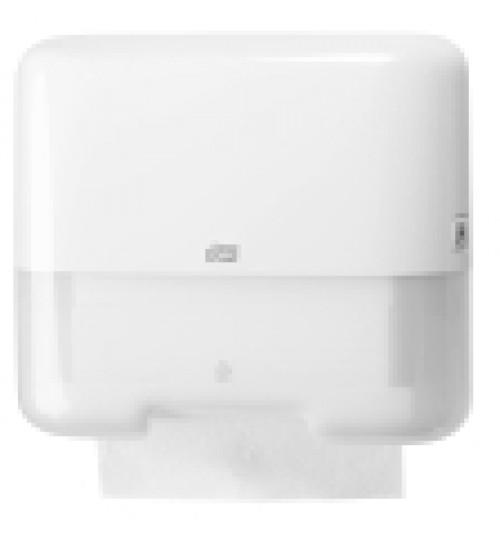 553100 Tork диспенсер для дистовых полотенец Singlefold сложения ZZ и С белый мини H3