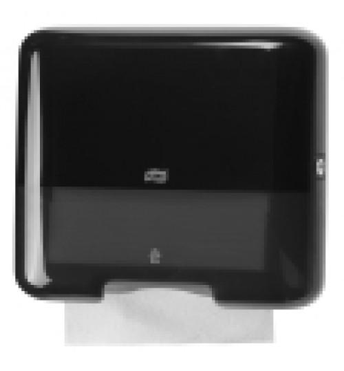 553108 Tork диспенсер для дистовых полотенец Singlefold сложения ZZ и С черный мини H3