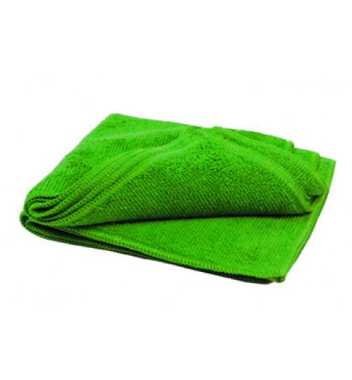 Салфетка микрофибра 40х40 см. зеленая 280g/pc