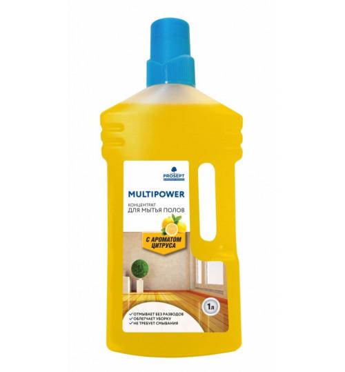 Средство для мытья полов PROSEPT Multipower E 1 л.