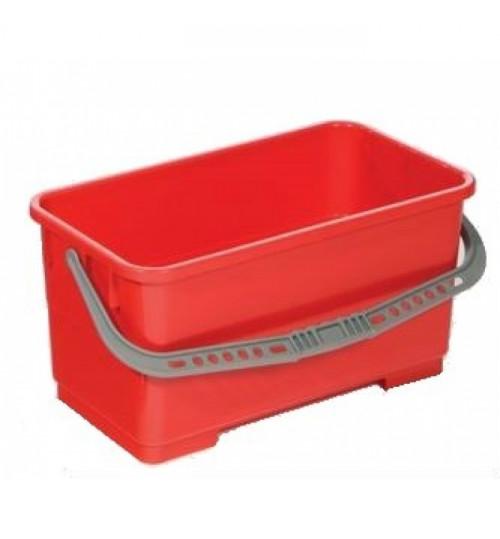 Ведро для мытья окон 22 л. (красное) 100151/500118 Vileda