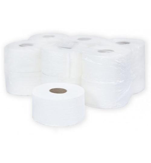 Туалетная бумага Терес Комфорт 2-сл. mini 120 м. белая Т-0040 1/12