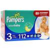 Pampers Active Baby миди джайнт+ 112шт (4-9 кг) 1/1