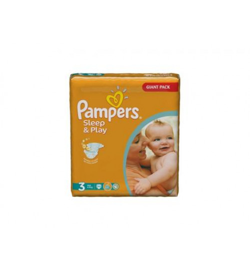 Pampers Sleep & Play миди джайнт 100шт.(4-9кг) 1/2