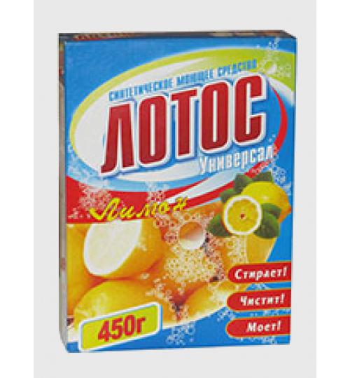 Стиральный порошок Лотос-М универсал лимон 450 гр. 1/18