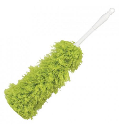 Щетка для сухой уборки (зеленая) 58 см. 3/72/72
