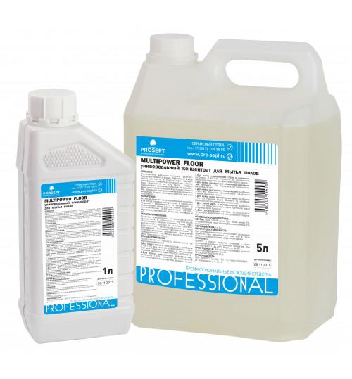 Универсальный концентрат для мытья полов PROSEPT Multipower  Floor 5 л.